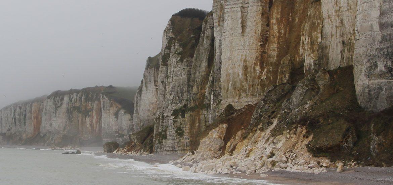 Steilküste Escalles