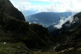 Lodnerhütte Aussicht