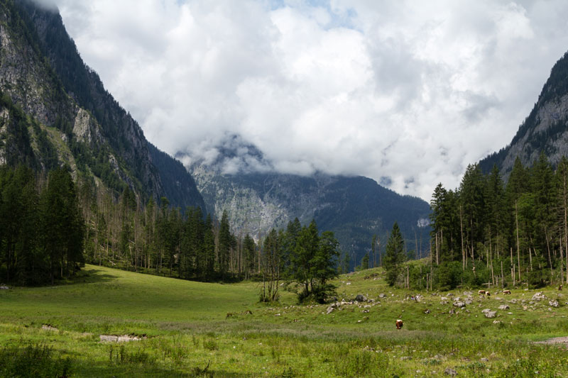 Roethbachfall Tal