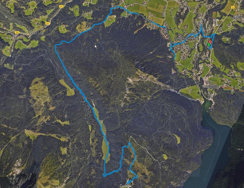 Mountainbiken Kuehrointalm